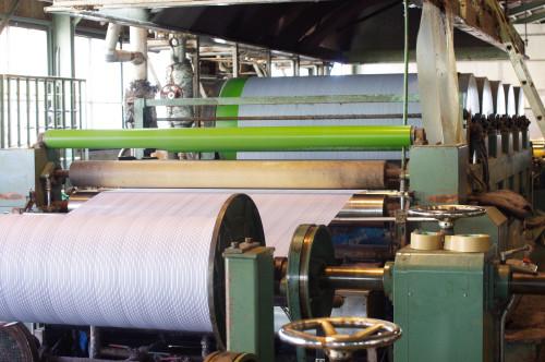 サイジング工場の写真