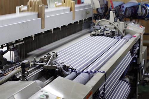 織布工場の写真