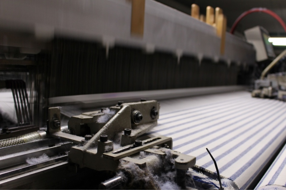 SASAKURA ORIFUの工場